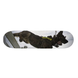 German Shepherd Police Dog Custom Skate Board