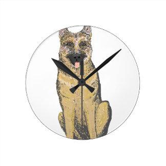 German Shepherd Products customize Clock