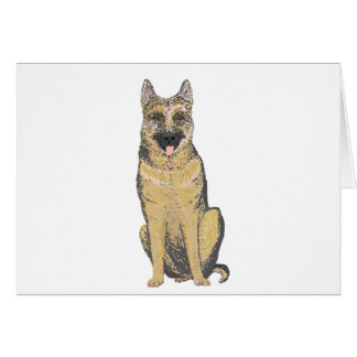 German Shepherd Products customize Greeting Card
