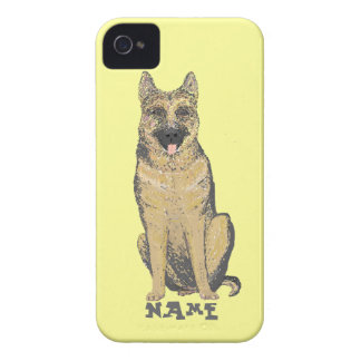 German Shepherd Products customize iPhone 4 Cover