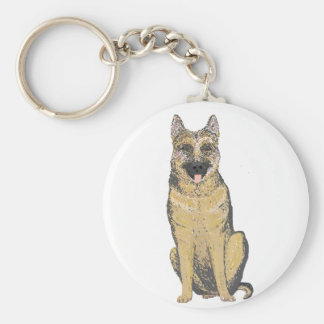 German Shepherd Products customize Keychains