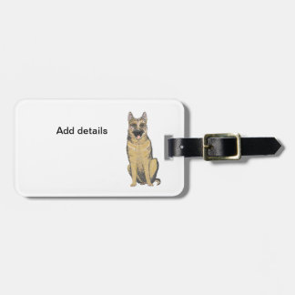 German Shepherd Products customize Luggage Tags