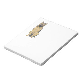 German Shepherd Products customize Memo Note Pads