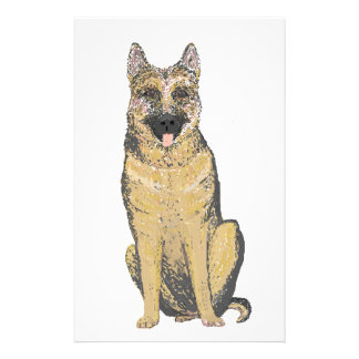 German Shepherd Products customize Stationery Paper