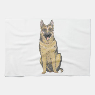 German Shepherd Products customize Hand Towels