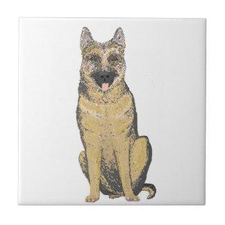 German Shepherd Products customize Ceramic Tile
