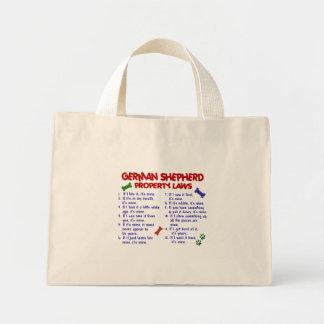 GERMAN SHEPHERD Property Laws 2 Mini Tote Bag