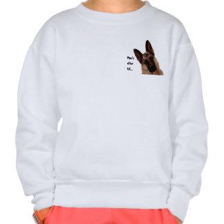German Shepherd Pull Over Sweatshirts