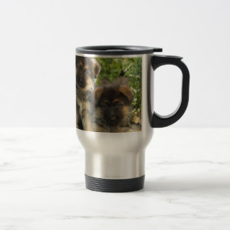 German Shepherd Puppies Travel Mug