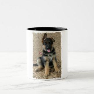 German Shepherd Puppy Ceramic Coffee Mug