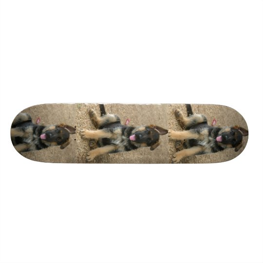 German Shepherd Puppy Dog Skateboard