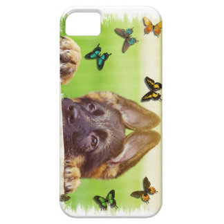 German Shepherd Puppy iPhone Case Cover For iPhone 5/5S