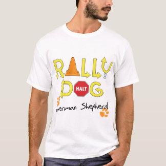 German Shepherd Rally Dog T-Shirt