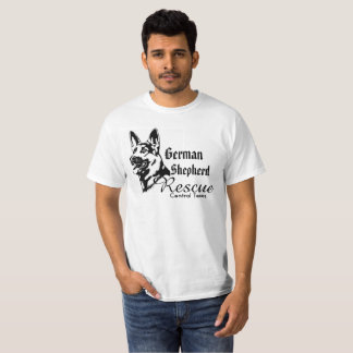 German Shepherd Rescue 2 sided Shirt adopt foster