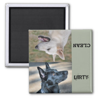 German Shepherd Rescue CTX Dishwasher magnet