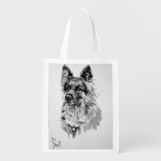 German Shepherd Reusable Bag