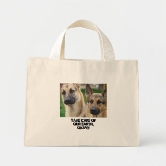 German Shepherd Reusable Cloth bags gifts DOGS