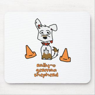 German Shepherd Sports Mouse Pad