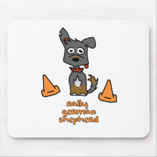 German Shepherd Sports Mouse Pads