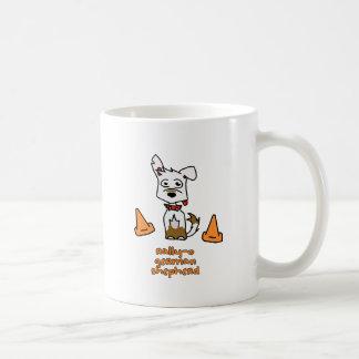 German Shepherd Sports Classic White Coffee Mug