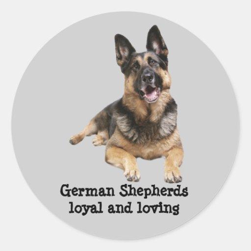 German Shepherd Stcker Stickers
