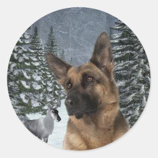 German Shepherd Stickers