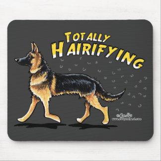 German Shepherd Totally Hairifying Mouse Pad