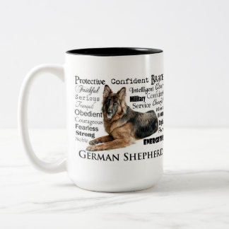 German Shepherd Traits Mug