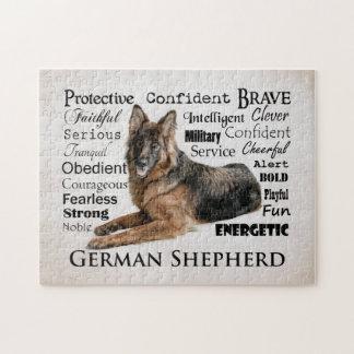 German Shepherd Traits Puzzle