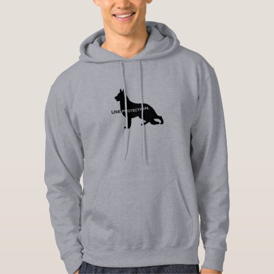 German Shepherd - Use Protection Hoodie