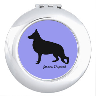 German Shepherd Vanity Mirrors