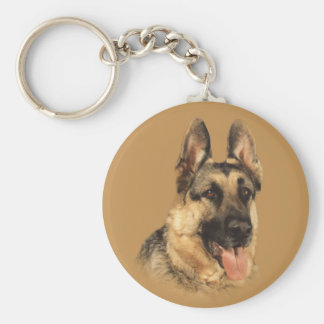 German Shepherd Very Handsome Keychain