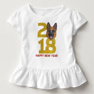 German shepherd Year of the Dog 2018 New Year Toddler T-Shirt