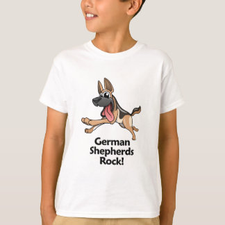 German Shepherds Rock! Shirts