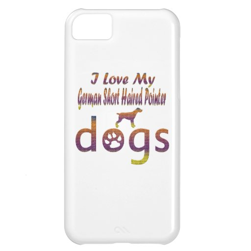 German short haired pointer designs iPhone 5C covers