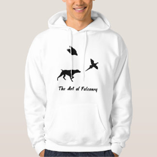 German Shorthair Pointer and Falconry Hoodie