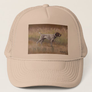 German Shorthair Pointer Dog Art Hat