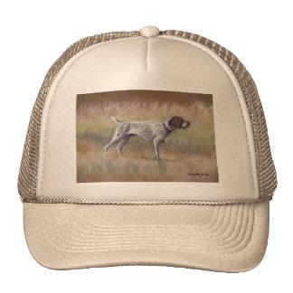 German Shorthair Pointer Dog Art Hat