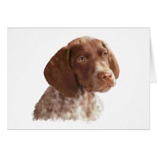 German Shorthair Puppy Card