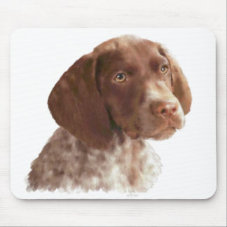 German Shorthair Puppy Mouse Mat