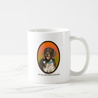 German Shorthaired Pointer Basic White Mug
