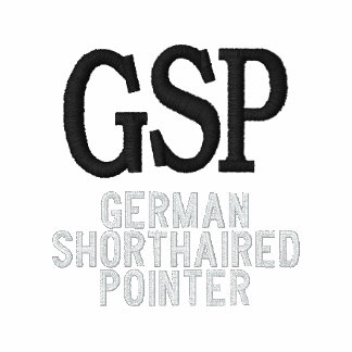 German Shorthaired Pointer Breed Monogram Embroidered Pullover Hoodie
