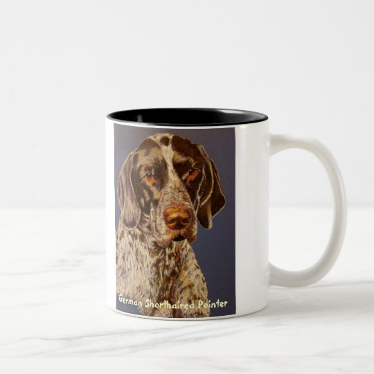 """German Shorthaired Pointer"" Coffee Mug"