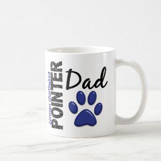 German Shorthaired Pointer Dad 2 Basic White Mug