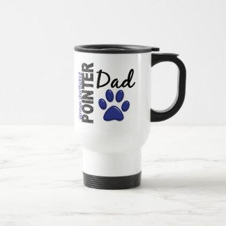German Shorthaired Pointer Dad 2 Stainless Steel Travel Mug