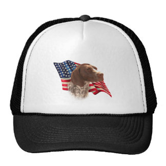 German Shorthaired Pointer Flag Cap