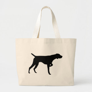 German Shorthaired Pointer Gear Large Tote Bag