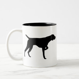 German Shorthaired Pointer Gear Two-Tone Coffee Mug