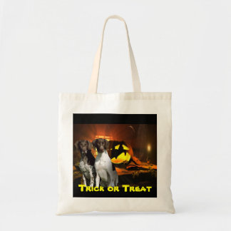 German Shorthaired Pointer Halloween Tote Bag