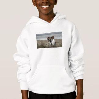 German Shorthaired Pointer Kids Hooded Sweatshirt